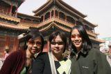 Joyce, Noon and Janine at Lama Temple