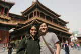 Janine and Hy at Lama Temple