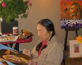z IMG_0402 William Sitting Bull paints in Estes Park CAC.jpg