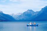 z P1080697 Family rafting on Lake McDonald on hazy day.jpg