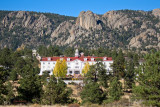 Stanley Hotel amid Estes Park autumn - IMG_2098
