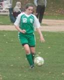 Seton girls modified soccer vs CF  10-28-2010