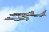 A-10 / F-16 and  F-4 Heritage flight