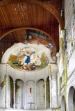 Puriscal Church with Closeup of Santiago, Crack in Ceiling