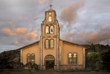 Church of Piedades at Sunset