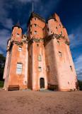 Craigievar Castle  - not photoshopped -'au naturel'