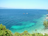 Turquoise water in Paxos