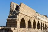 Ceasaria, Israel, Ancient Roman Aquaduct