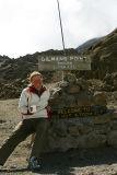 Kibo hut (altitude 4703 m)