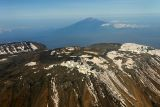 View of Kili from 30000ft
