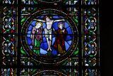 vitrail de la cathédrale du mans