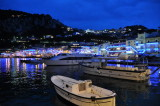 Capri Marina Grande after nightfall