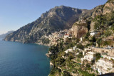 Coastal view near Positano