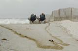 Hurricane Ike Storm Surge at Navarre Beach, Florida