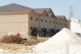 Old Beach Condominiums' Sand and Brown Fill Dirt