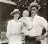 Mimi, Granddaddy, mother.  1919