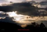 nubes de la noche