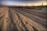 Sand Road Sunset