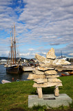 Oslo Harbour Monument + Ship