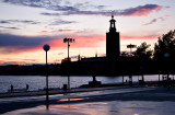 Stockholm Harbour Sunset 2