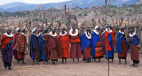 Maasai Women in the Boma 2