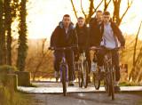 Sunset Cyclists