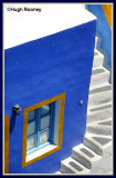 GREECE - SANTORINI - FIRA - COLOUR PATTERNS