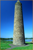 01785 - IRELAND - CO.FERMANAGH - DEVENISH ISLAND ROUND TOWER ON LOUGH ERNE