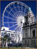 IRELAND - CO.ANTRIM - BELFAST - WHEEL OF BELFAST AT CITY HALL