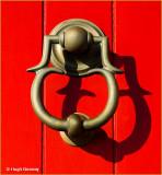 IRELAND - CO.DUBLIN - HOWTH - LIGHTHOUSE DOOR