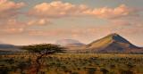 Kenya savannah landscape