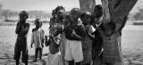 Samburu children panorama