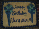 happy birthday alex & mike