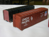 Reworked UP 40' Grain cars by David Pires