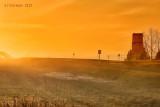 Dusty Sunset Over Odessa