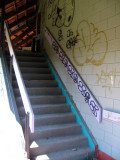 stairs to level 2