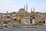 View from Karakoy to Süleymiyie Mosque