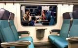 ... amusement in train