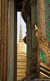 A peep to golden Stupa