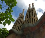 another view to Sagrada Familia