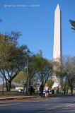 Passing the Washington Monument
