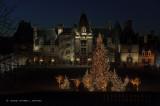 Biltmore With Christmas Lights #1