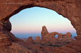 Turret Arch, Minutes Before Sunrise
