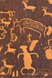 Newspaper Rock Detail
