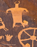 Figure & Wagon Wheel