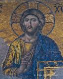 Jesus, Hagia Sophia Mosaic