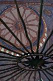 Blue Mosque Dome, Interior