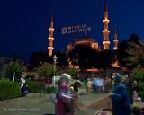 Street Vendor Near The Blue Mosque