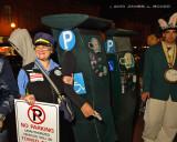 Meter Maid & Parking Meter