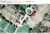 Google Satellite View - Jet over Mount Vernon